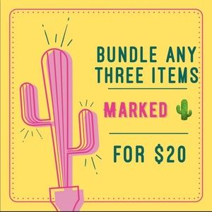 3 for $20 SALE this weekend. Get the deals